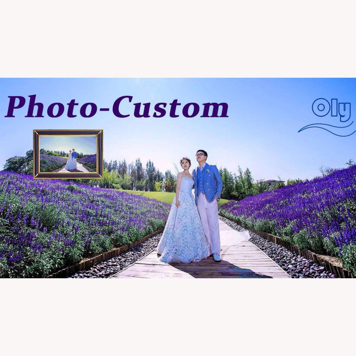 Oly Oem Customization Photo Custom Diy Diamond Painting Full Drill Full Bead Caustom Made Gift