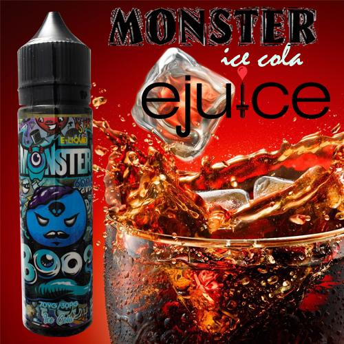Premium SMOK 3MG E-Cigarette Vape Juice A12 Monster Ice Cola 60ml e-Liquid / E-Juice 60ml