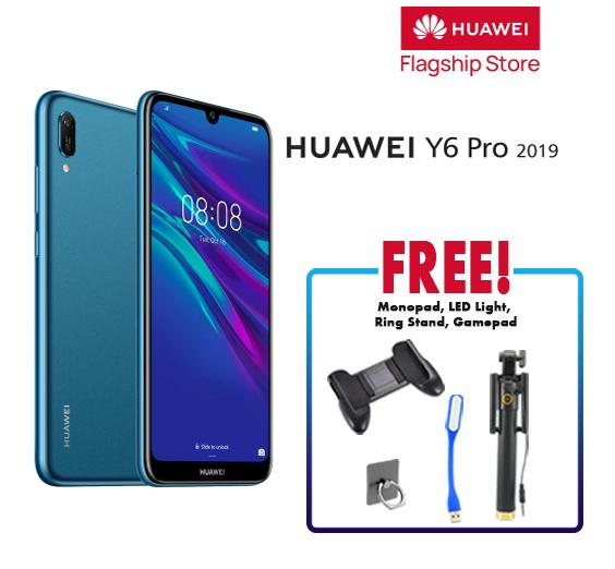 Huawei Y6 Pro 2019 32GB — 3GB 6 09 inches HD+ Screen Smart Phone