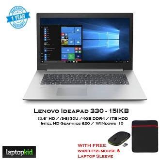 Lenovo Ideapad 330-15IKB(i3) i3-8thgen 15 6