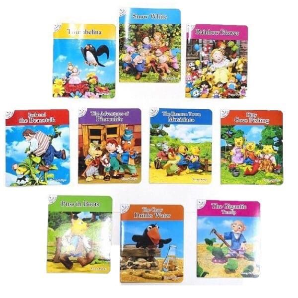 10 In 1 Classical Story Book Set 1 By Seasonaldeals.
