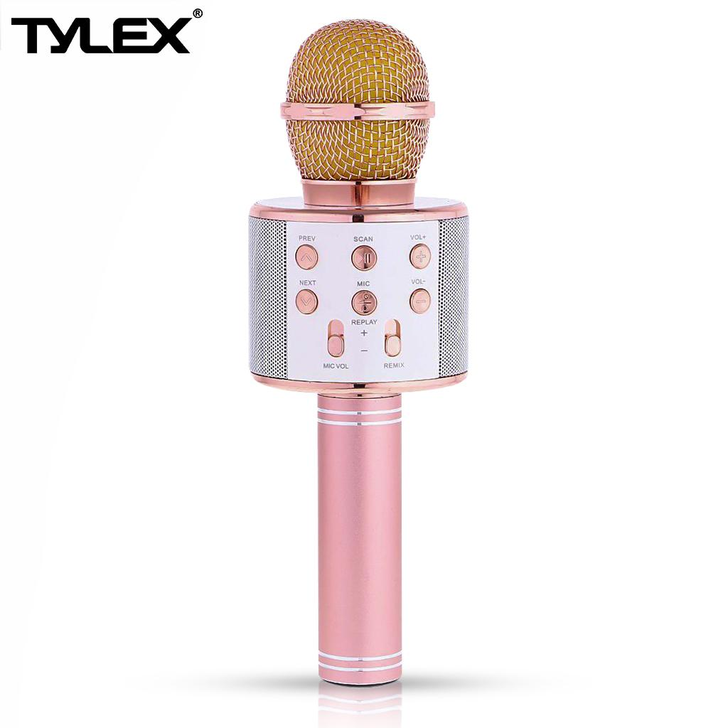 Audio Device For Sale Music Devices Prices Brands Specs Electric Fan Wiring Diagram Philippines Tylex Ty 858 Wireless Portable Handheld Bluetooth Microphone Android Ios Rose Gold