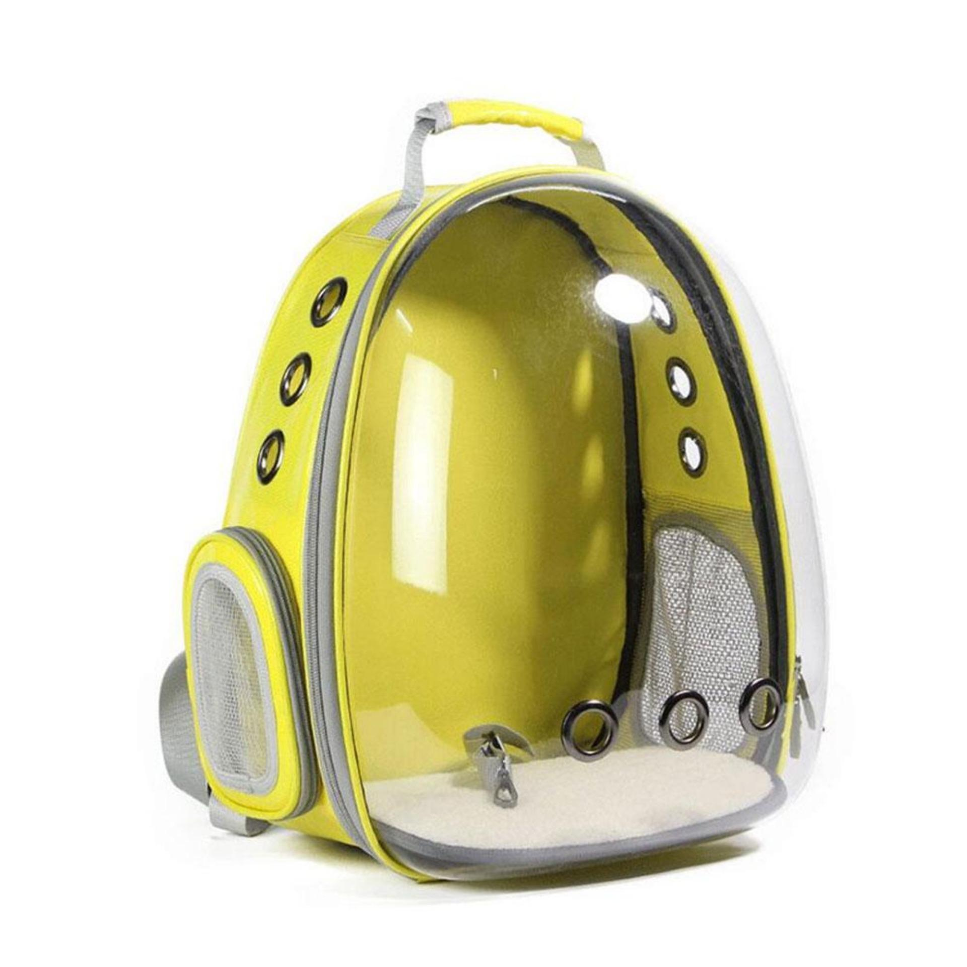 Lightsmile Pet Dog Carrier Backpack Bag Puppy Cat Dog Outdoor Hiking Travel Bag Pet Space Portable Bag Capsule Shaped Pet Carrier Backpack By Lightsmile.