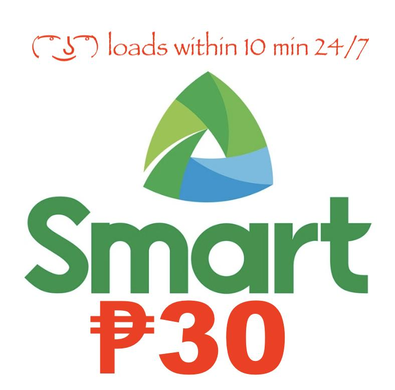 Smart / Tnt Regular Mobile Load 30 Pesos By Acts29.