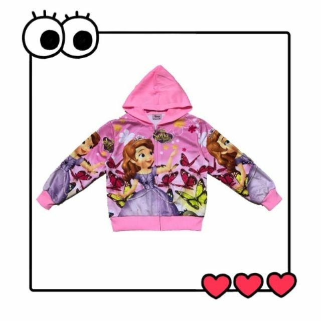 5fcbbf575 High Quality Baby& Children's Girls /Sofia jacket For kids COD Children's  hooded jackets