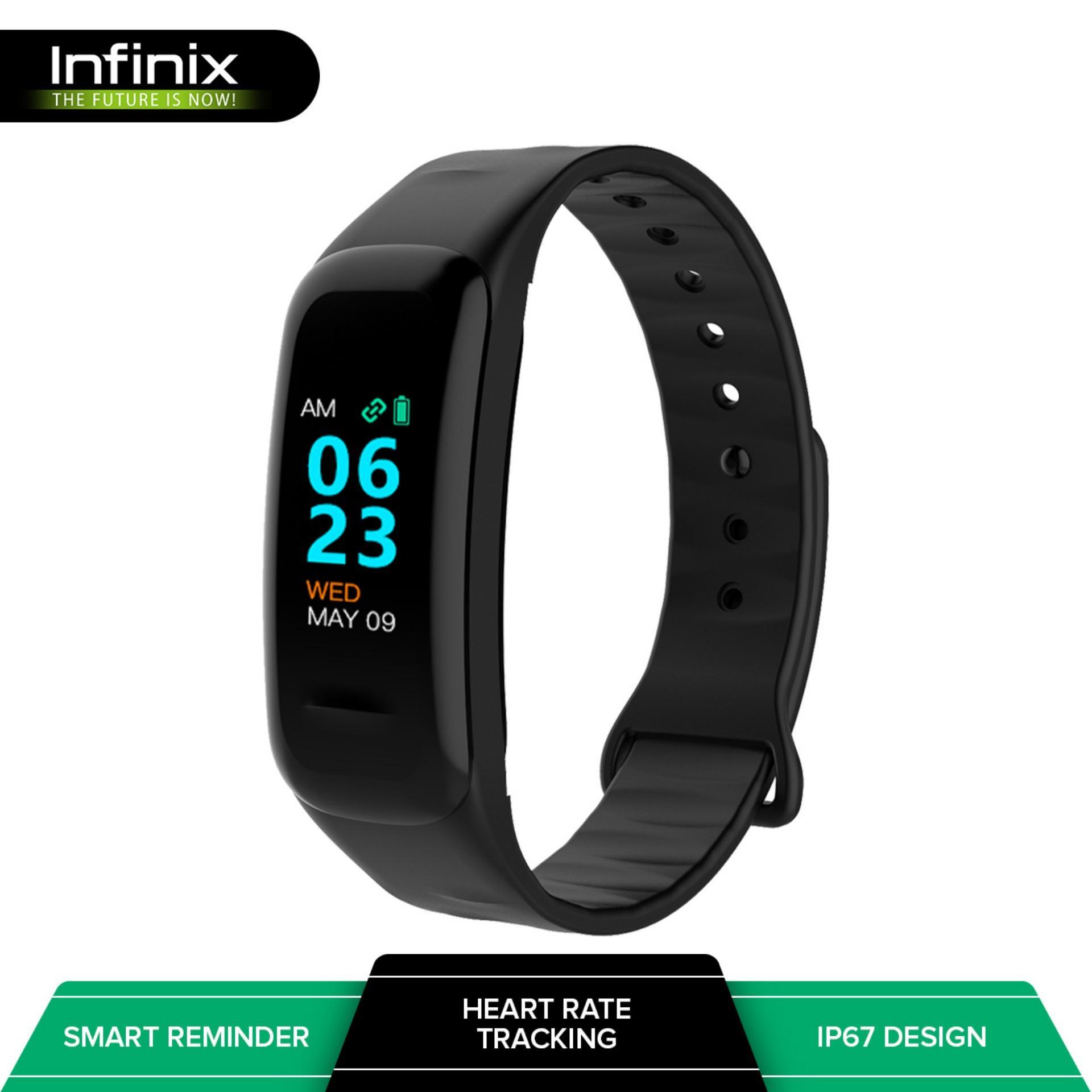 f02be5ddfd6 Infinix XBand 3 Smart Watch Fitness Tracker (Black)