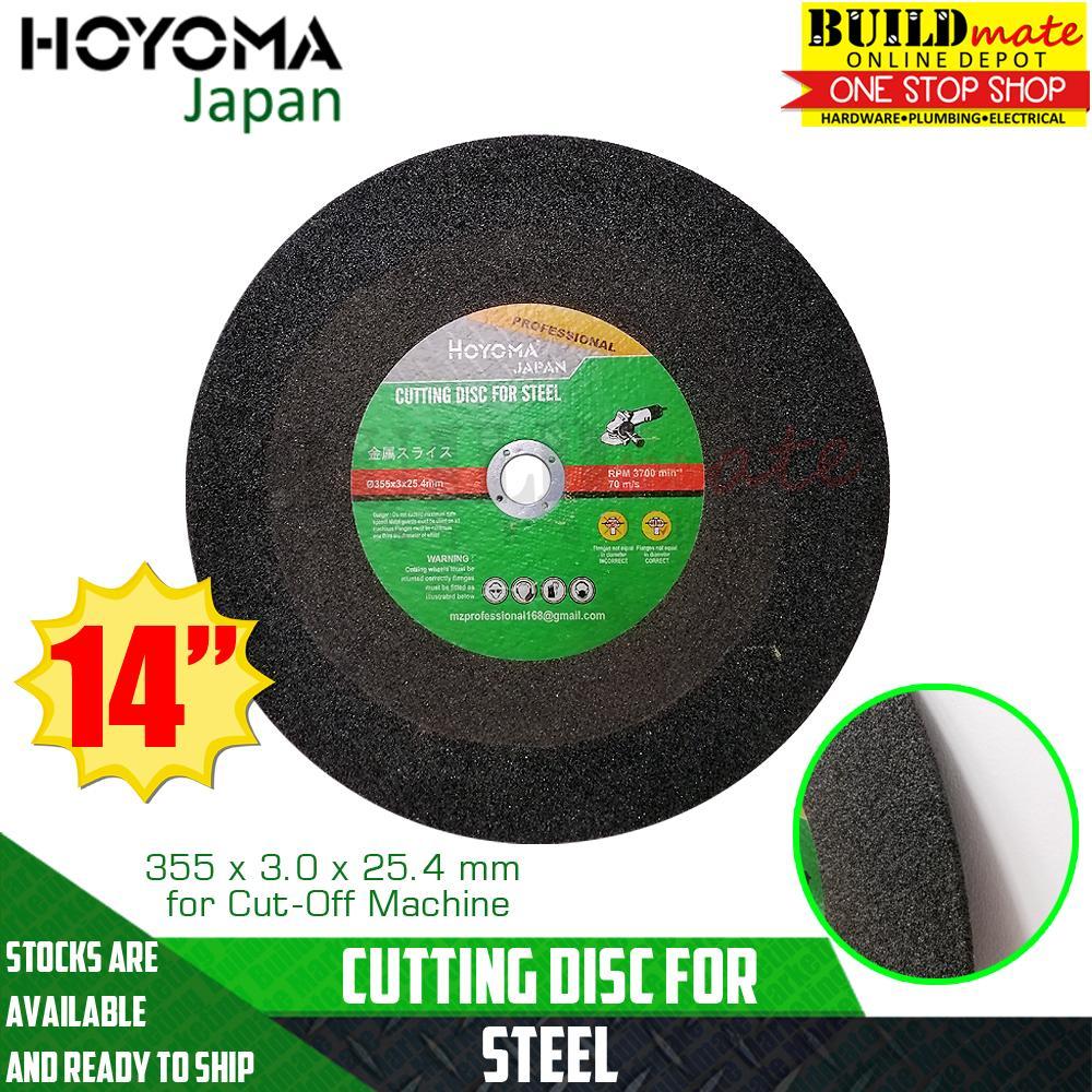 HOYOMA Cutting Disc Wheel for Cut Off Machine 14