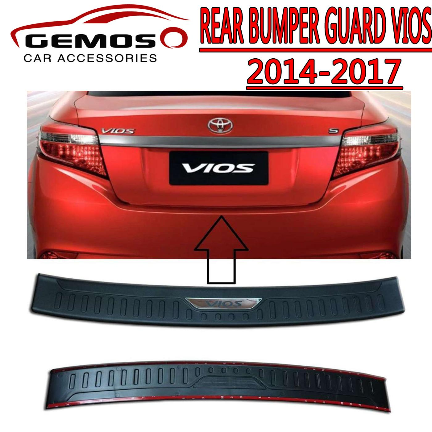 Running Board For Sale Boards Online Brands Prices Accessories Isuzu Mux Toyota Vios 2014 To 2018 Rear Step Sill Or Bumper Guard Stepsill