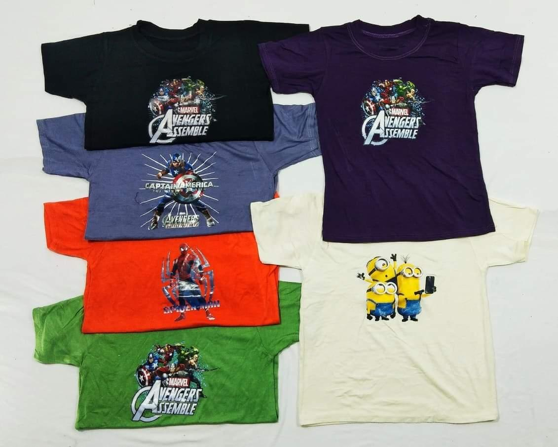 7 Colours Lego Guardians Of The Galaxy Kids T-Shirts Sizes 1-15 2 Designs