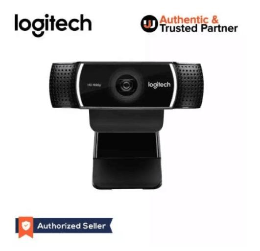 Logitech C922 Pro Stream Webcam Background Replacement + Tripod Full HD  1080P at 30FPS / 720P at 60FPS Streaming