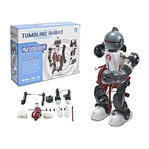 Cute Sunlight Diy Truck Educational Tools-Tumbling Robot Education  Toy,Tumbling Robot Kit, Science Walking Robot Toy, DIY Robot Set  Educational Kit