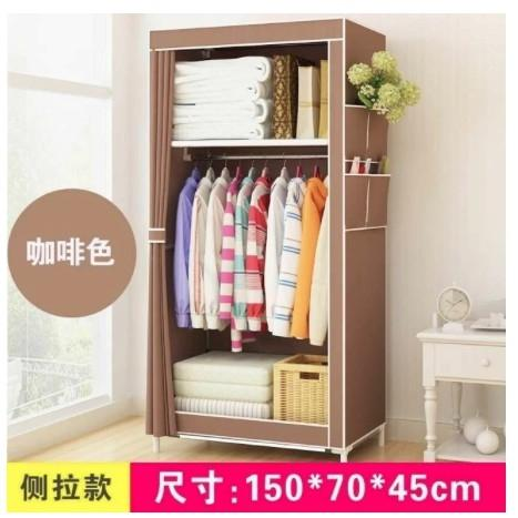 Philippines 8870 Simple And Fashion Multipurpose Durable Cloth Wardrobe Rack