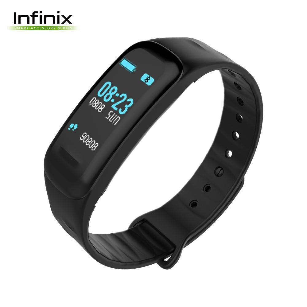 Infinix XBand3 Smart Watch Bracelet x Clip Charger x User Manual