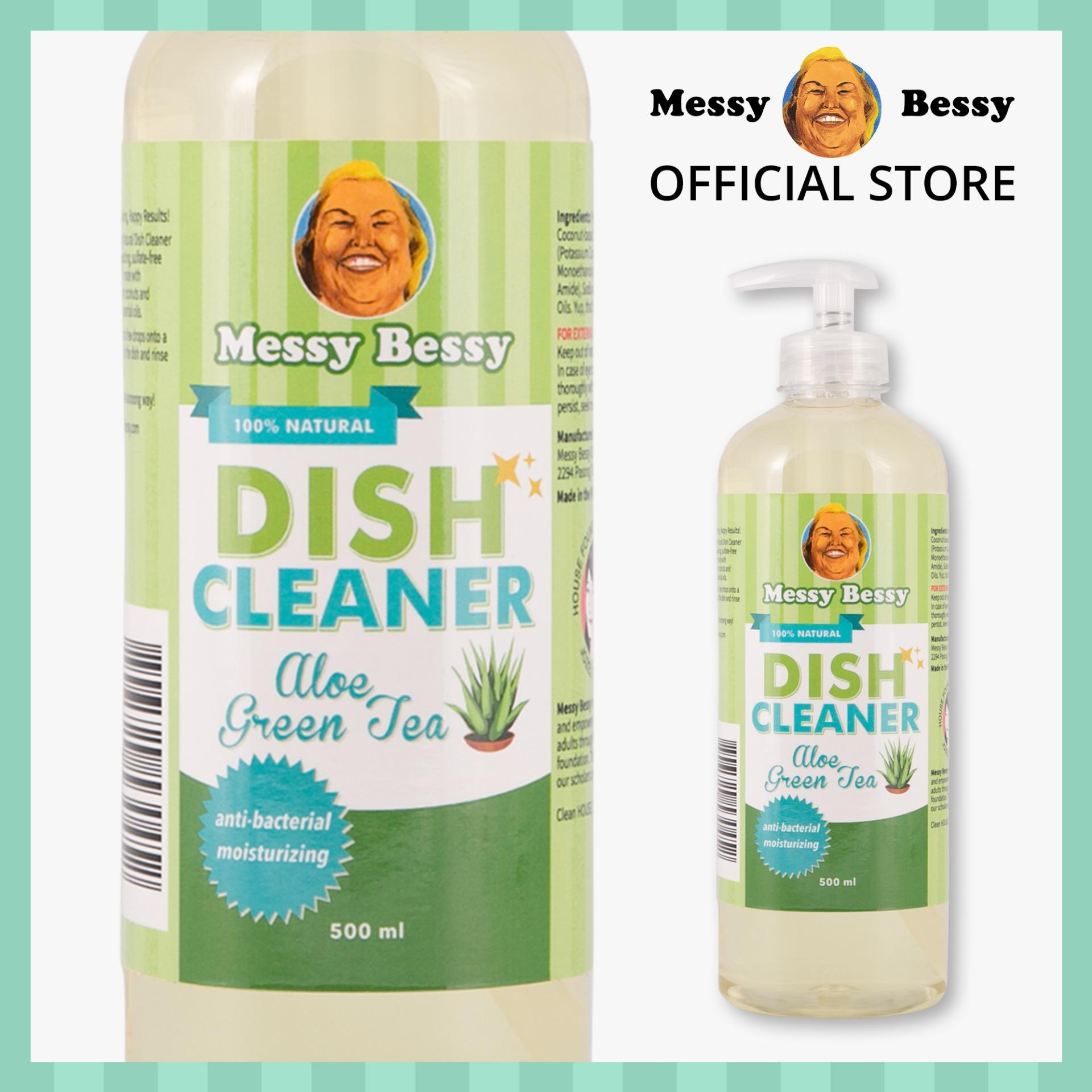 Messy Bessy Dish Cleaner Aloe Green Tea 500ml By Messy Bessy Official.