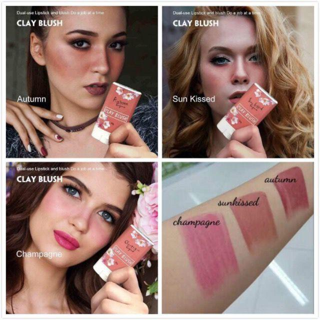 On Hand Luna Organics Authentic Autumn Cod Clay Blush 30g By Fashion Idol.