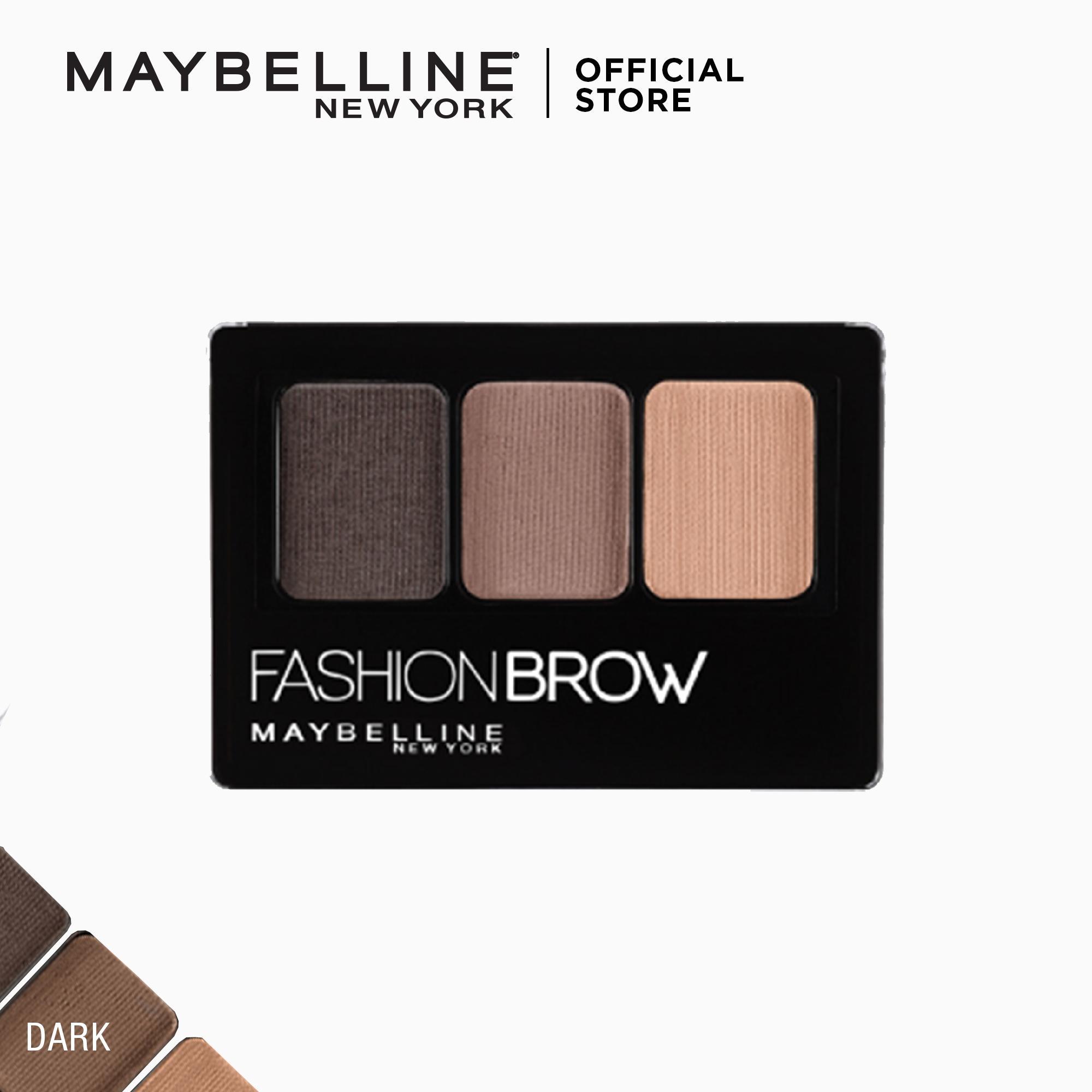 Maybelline Fashion Brow Palette (Dark Brown)