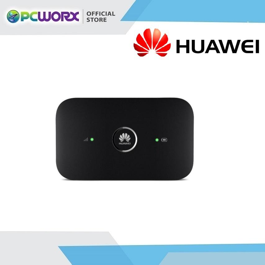 Huawei E5573C 4G LTE 150Mbps Openline Mobile Pocket Wifi (Black)