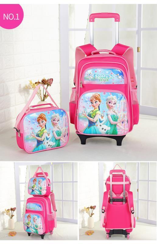 e0093d78f89 Topstar Trolley school bag 2in1bag 2( Lightning Wheels )Trolley Backpack  Wheeled Bag lunch bag