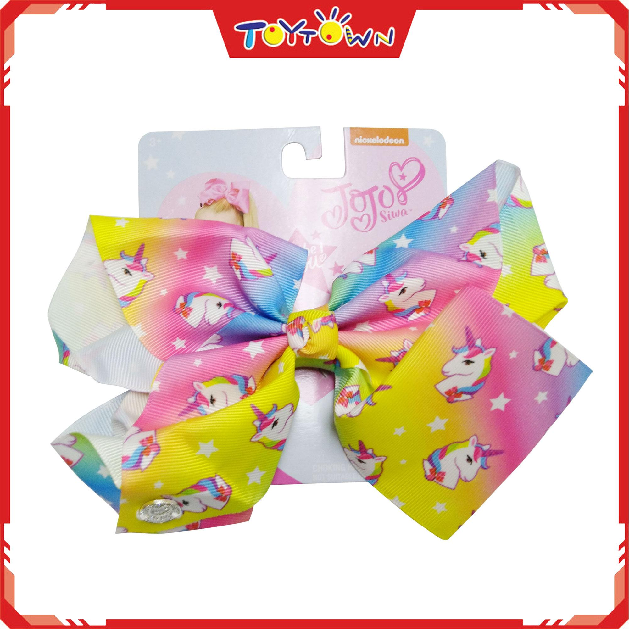 Jojo Siwa Unicorn Stars Bow By Toytown 2.
