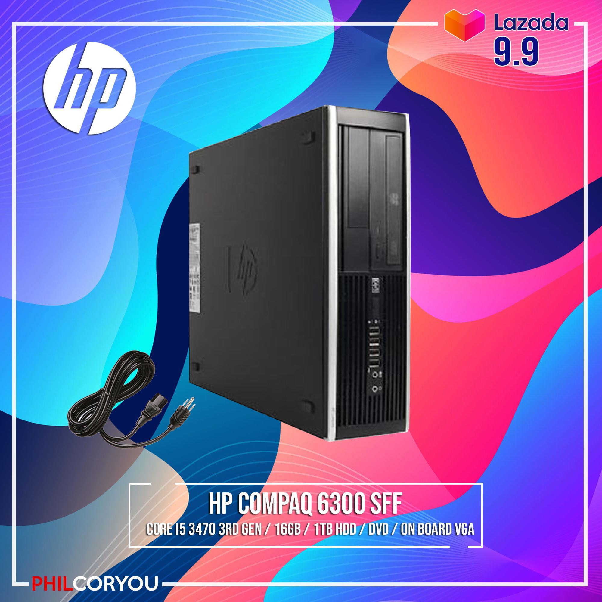 [CPU Package] HP COMPAQ 6300 SFF CORE I5 3470 16GB 1TB