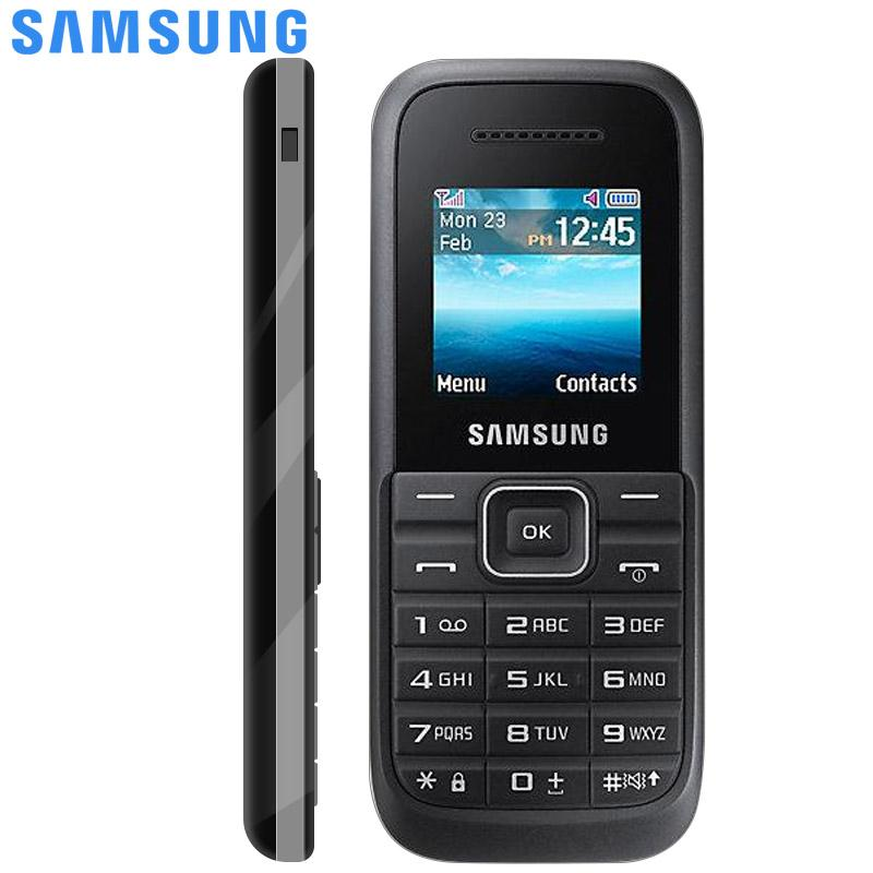 Samsung B105 Keystone2 Mobile Phone Dual Sim Card Camera Cellphone