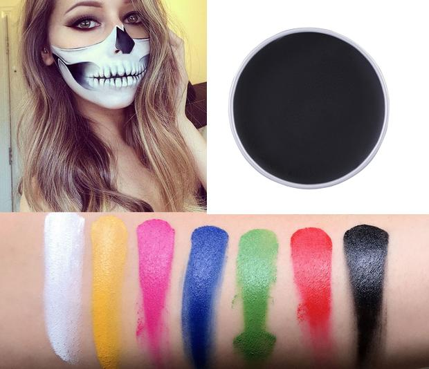 7Colors Imagic Face Body Paint Oil Art Halloween Party Cosplay Dress Makeup Tool - intl
