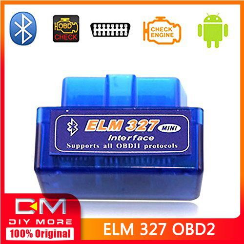 Original Diymore Mini Elm327 Bluetooth OBD2 V1 5 Elm 327 V 1 5 OBD 2 Car  Diagnostic-Tool Scanner Elm-327 OBDII Adapter Auto Diagnostic Tool