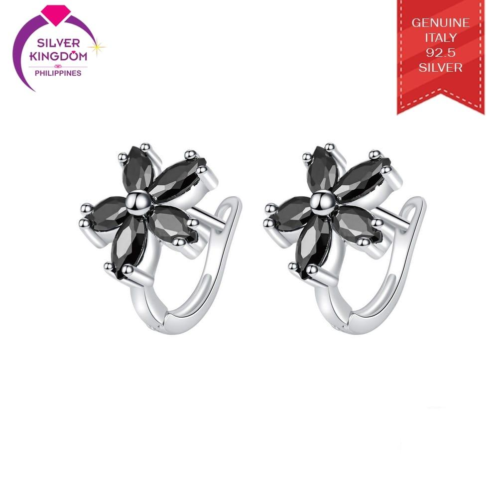 Silver Kingdom 92.5 Italy Silver CE118 Clip Earrings for Women's
