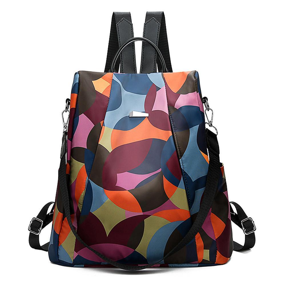BAGOO Oxford Backpack Women Anti Theft Girls Travel Daypack Shoulder Schoolbags