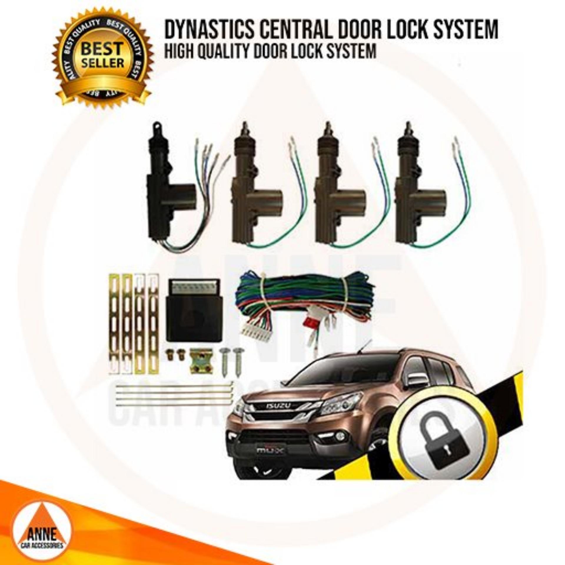 e5aaab35fe Dynastics 360º Heavy Duty Auto Car Key less Entry - Central Door Lock  System - Universal