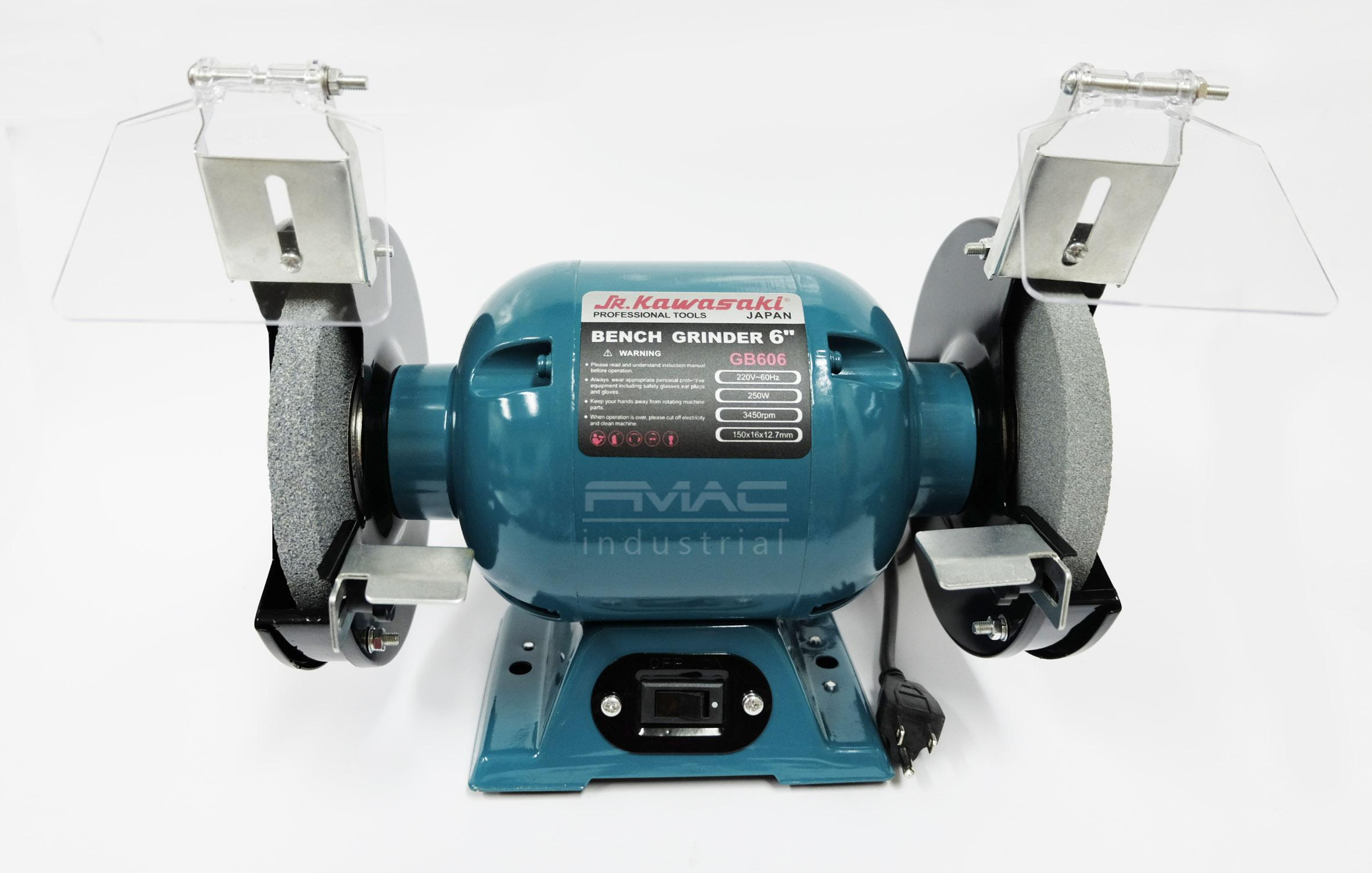 Swell Jr Kawasaki Bench Grinder Gb606 Gmtry Best Dining Table And Chair Ideas Images Gmtryco