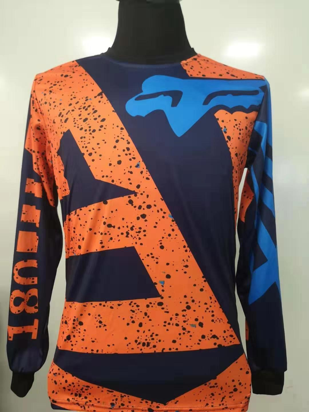New Arrival Side Fox Racing Bike Ride Long Sleeves Jersey Design For Men Shirt Size Chart Inch Sizes
