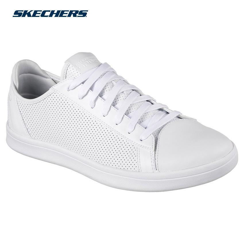 7a0665d46baf Skechers Men Highland-T Street Sneakers Footwear 52349-WHT (White)
