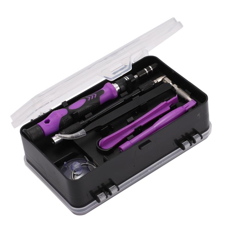 1 Set 115 in 1 Multi-Function Magnetic Mini Precision Screwdriver Kit with Replaceable Bits for Mobile Phone, Laptop, Watch, Glasses, Electronics
