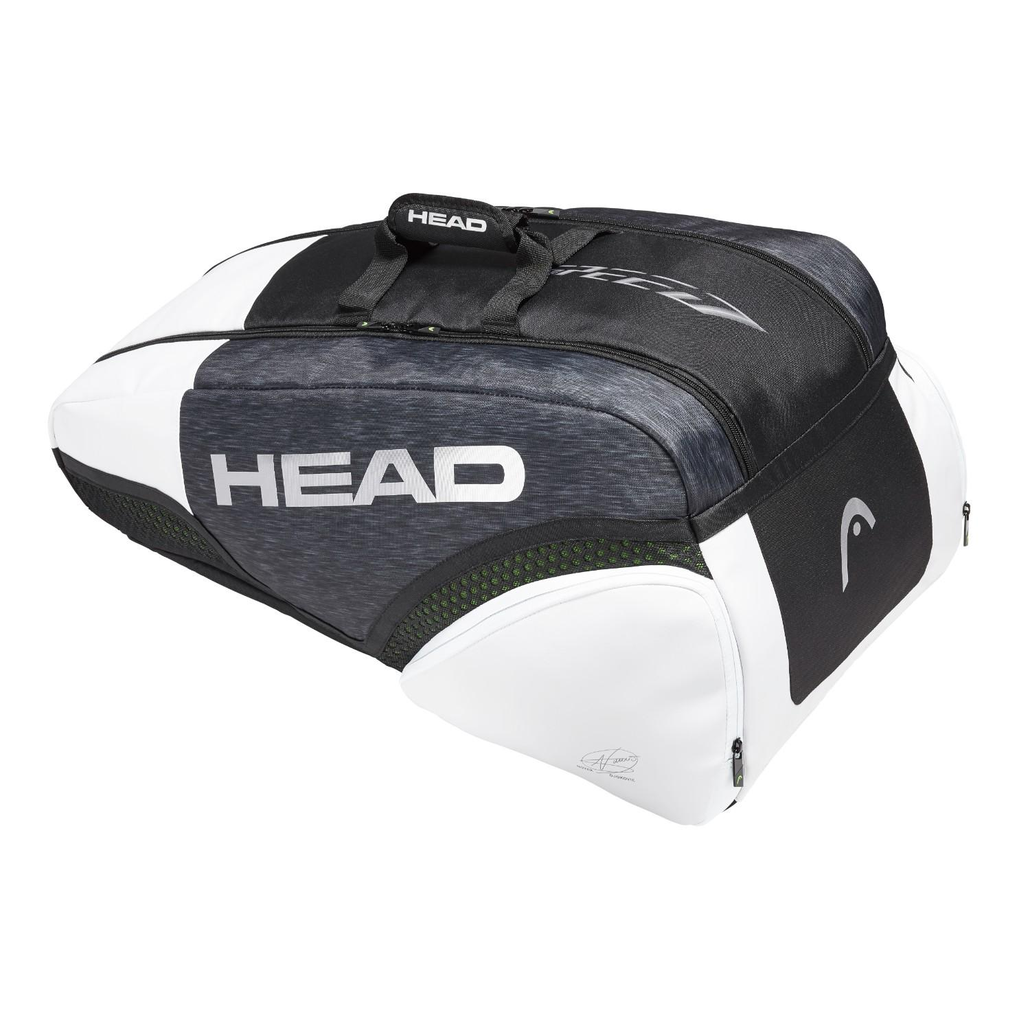 Head Djokovic Supercombi 9 Rackets Bag By Head.