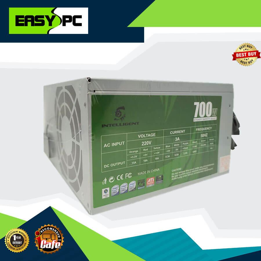 Intelligent Power Supply 700watts, Intelligent PSU Designed Power Supply  for iCafe and eSports Diskless Computer Setup, For Casual Gaming Power