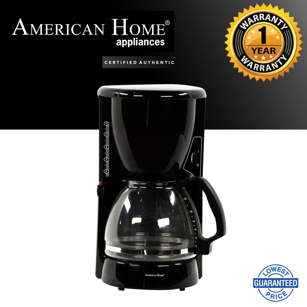American Home Coffee Maker Acm 116b 1 4 Liters 12 Cups Lazada Ph