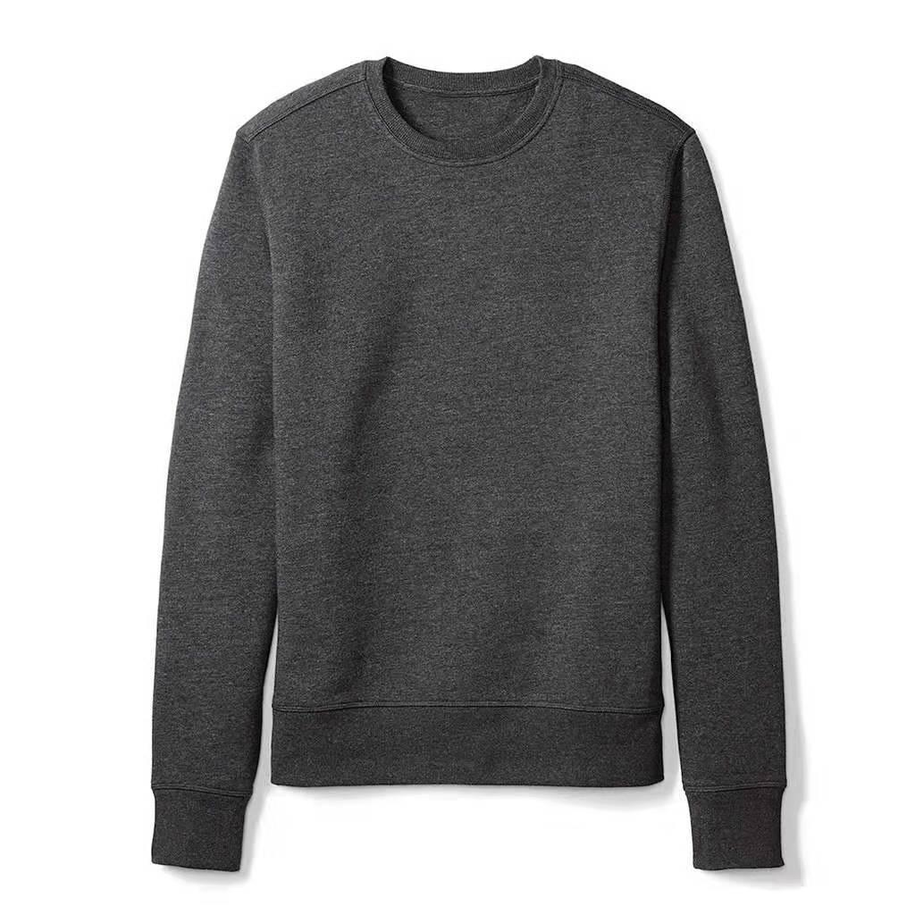 YUNY Mens Heap Collar Knit Slim Fit Long Sleeves Solid Knitting Sweater Grey M