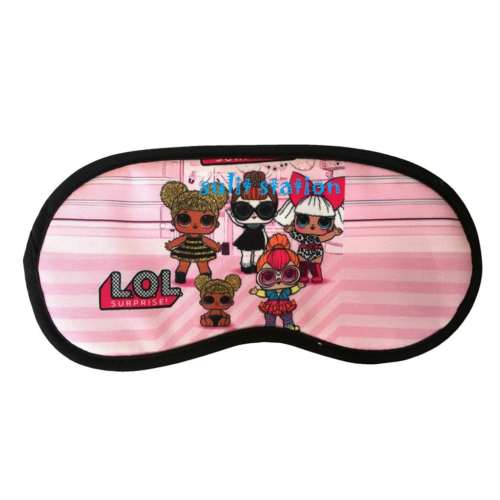 cdecfdb7d5c Lol Surprise Doll Girls Travel Sleeping Eye Mask Cover