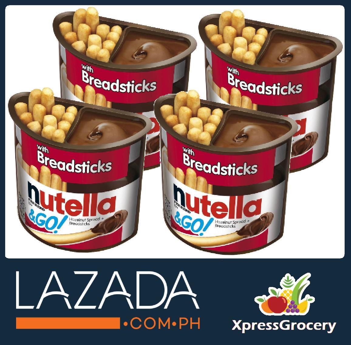 [XG] NUTELLA & GO Chocolate Breadsticks 52g 1 8oz 4pcs
