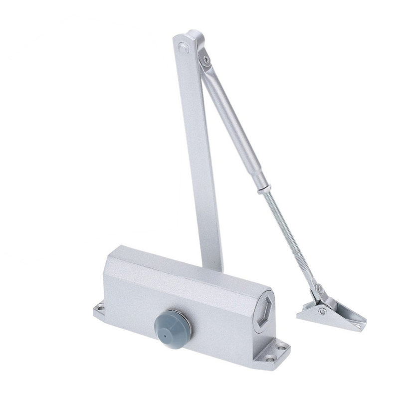 Automatic Door Closers Security System Adjustable Closing/Latching Speed Aluminium For Left And Right Hand Doors 25-45 Kg 900Mm