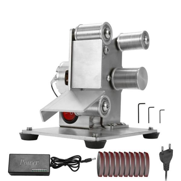 Máy mài đa chức năng máy chà nhám đai điện mini máy mài đánh bóng DIY máy cắt máy mài cạnh - INTL