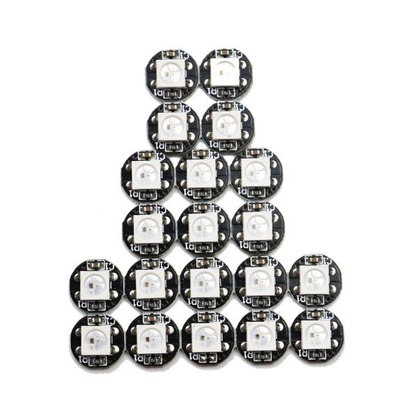Bảng giá 10 Chip Tản Nhiệt LED 5V RGB Kỹ Thuật Số 4 Chân WS2812B 5050 SMD, IC WS2811 Tích Hợp Sẵn
