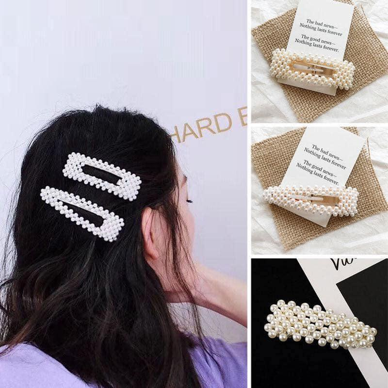 Girl's Hair Accessories Reliable Korean Pearl Hair Clips Girls Aligator Claws Rhinestone Barrettes Gold Hairpins Diamond Bobby Pins Women Hair Accessories Tools