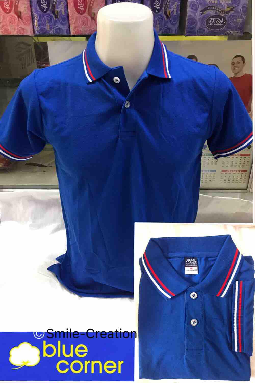 Blue corner Men's Polo shirt #2(Royal blue)