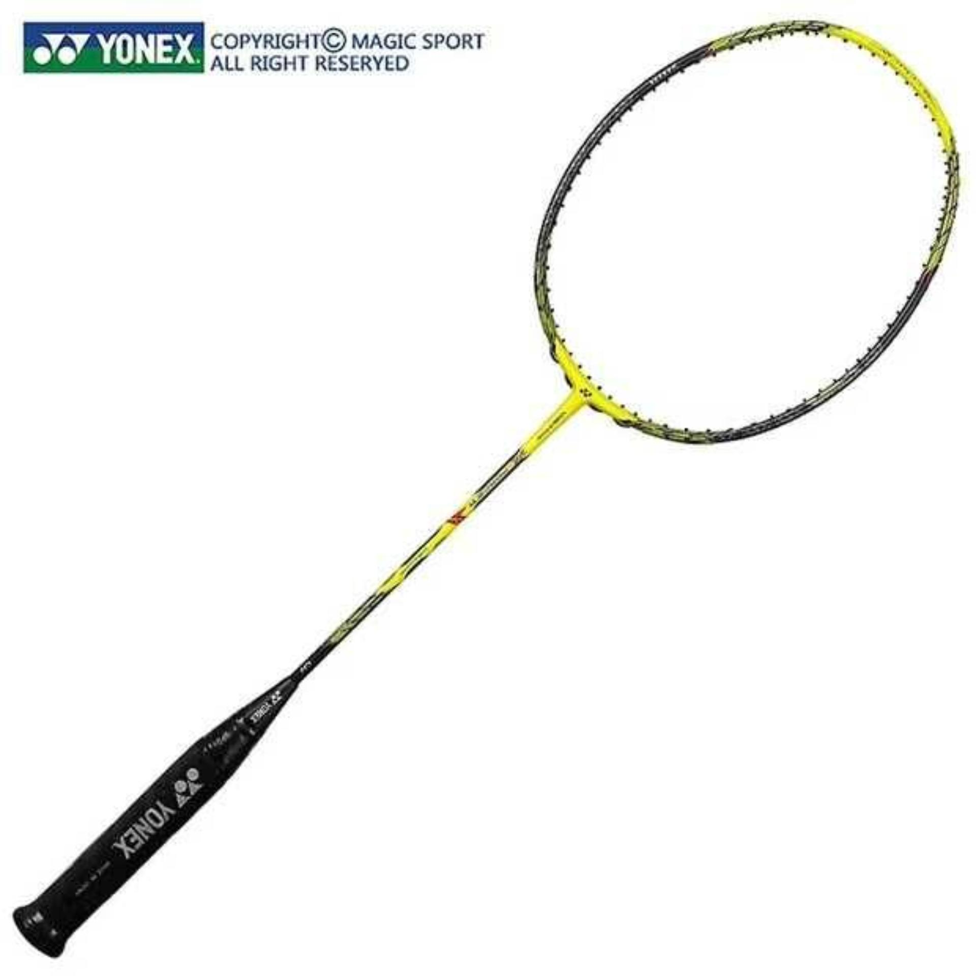 YONEX Voltric Z Force 2 VTZF-2LD 4U Full Carbon Single Badminton Racket with Even Nails 26-30Lbs Suitable for Professional Player Training Buy 1Get 3 Gifts
