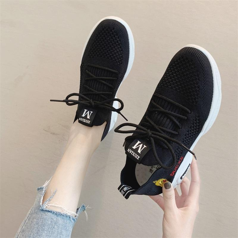 Online Celebrity Girls Punched Sheet Shoes Female 2019 New Style Summer Versatile Students Sports Oldpapa Shoes Female Mesh Womens Shoes By Taobao Collection.