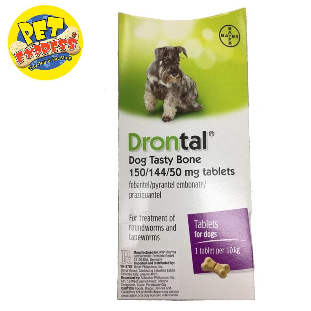 Bayer Drontal Dewormer Tablet (1 tablet)
