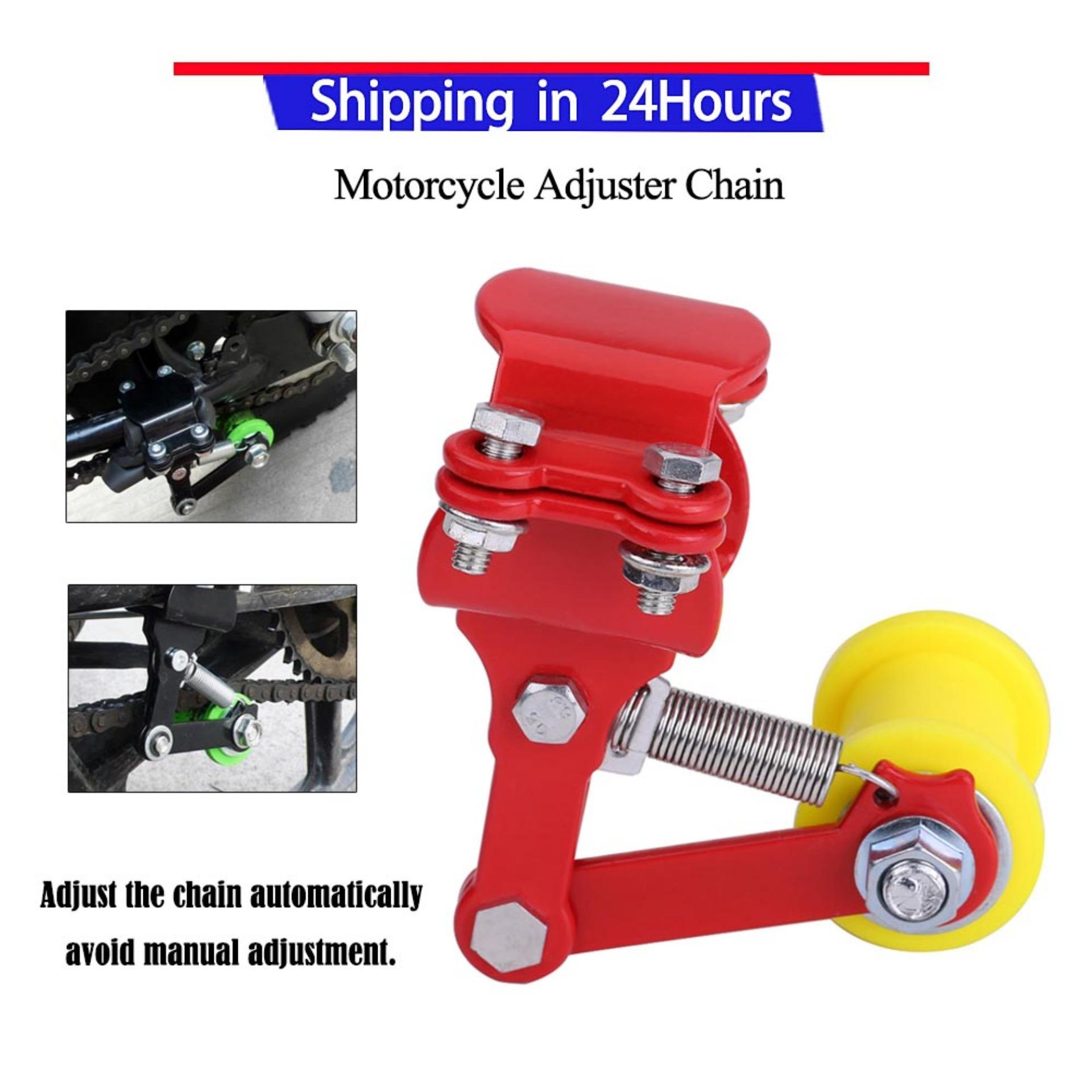 Adjuster Chain Tensioner Bolt On Roller Motorcycle Modified Accessories Universal Tools - Intl By Qilu.