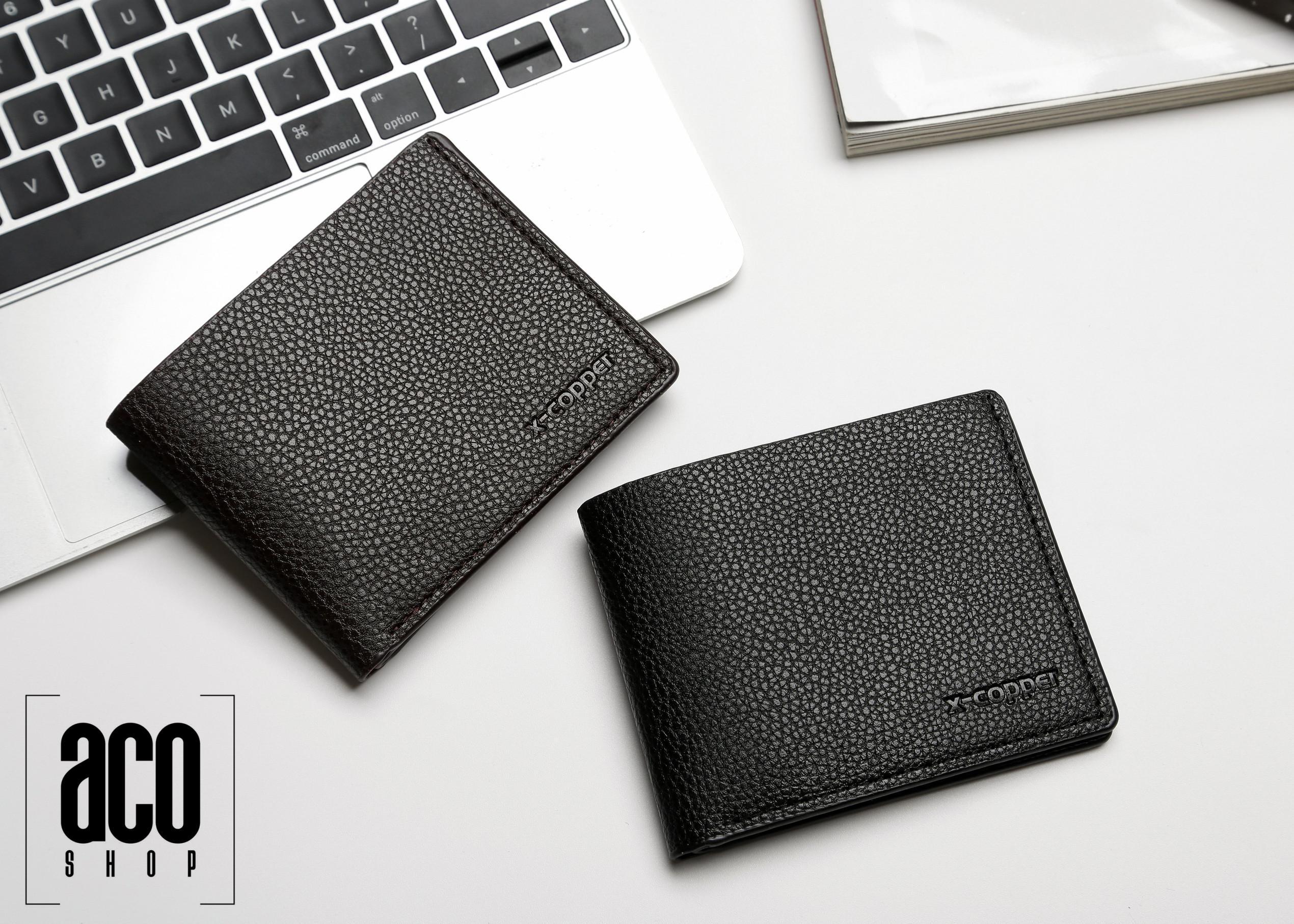 ACO Wallet 333 Mens Short Wallet Bi-fold Card Holder Wallet